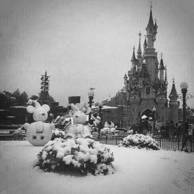 Disney nevado