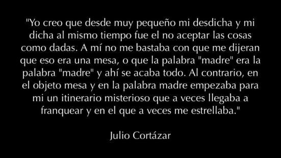 Julio Cortázar Dudas